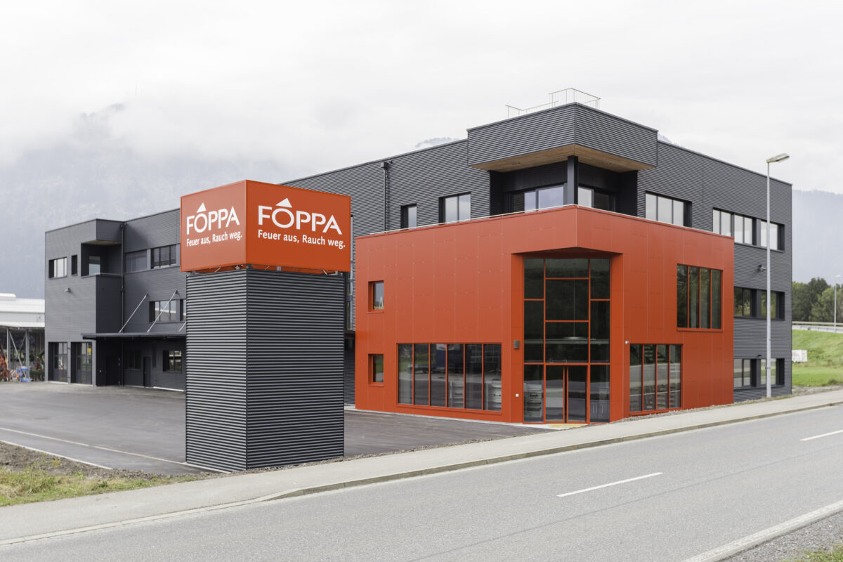 Fassade Foppa AG Zizers | 2016