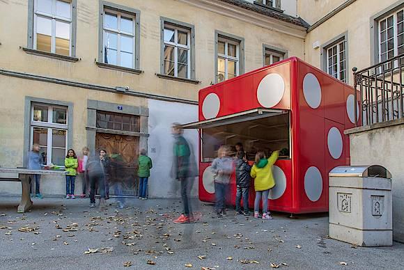 Kioskwürfel Nicolai Chur| 2014