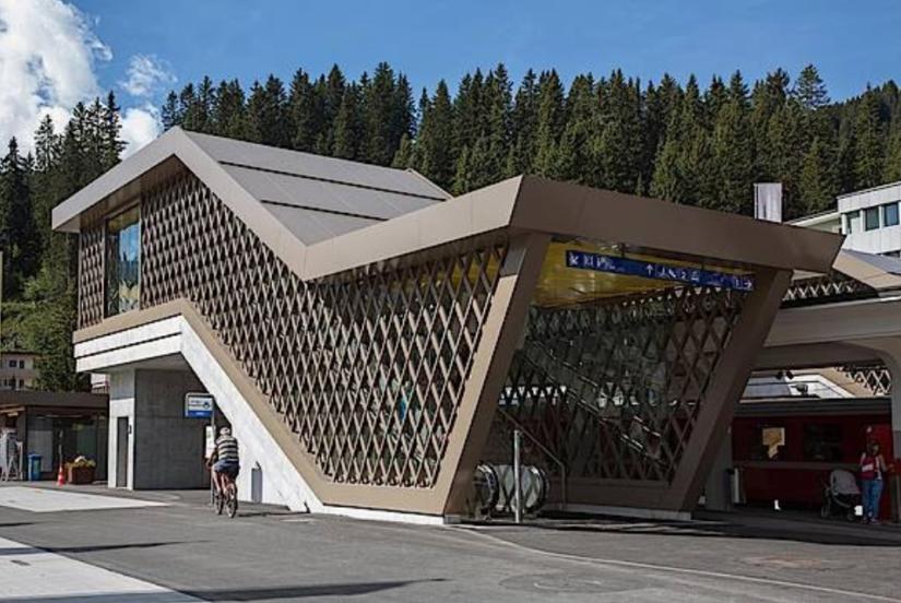 Bahnhof Arosa | 2014